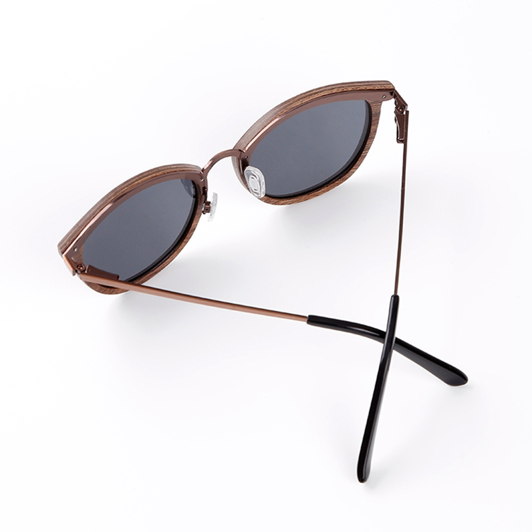 OEM logo wood sunglasses polarized lens uv 400 eyeglasses female