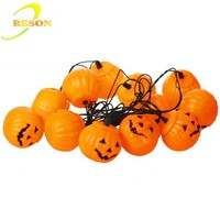 RS-SL113 hanging decoration halloween props pumpkin string light