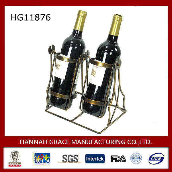 Novelty Metal Swing Wine Holder