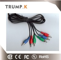 Professional YPbPr AV cable component 3RCA to 3RCA cable