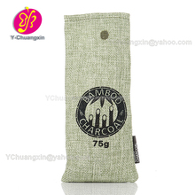Eco friendly Drawstring small jute pouch custom jute bag wholesale