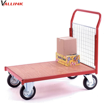 warehouses steel order picking flatbed cart