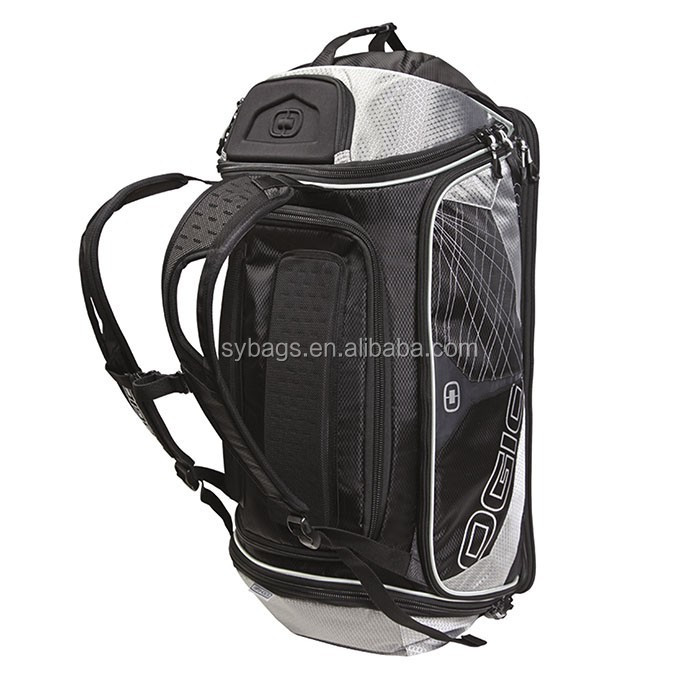 large soft duffel luggage backpack with sports shoe pocket / deluxe low price lacrosse backpack bag / backpack bag