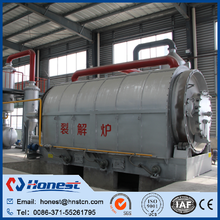 high performance scrap use waste tyre pyrolysis oil supplier