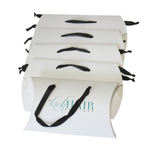 Wholesale Cheap Hair Extension Packaging Box With Satin