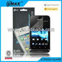 TFT screen guards for Sony xperia tipo oem/odm (Anti-Glare)