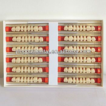 CE Certification Dental Synthetic Polymer Resin Teeth Factory Wholesale