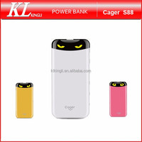 Cager S88 Big Capacity Cute Cartoon Design Portable PowerBank Charger 6000mAh mobile Power Bank