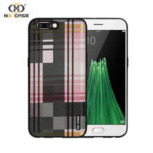 Fashion plaid latest arrival shockproof mobile phone case for iphone 7