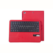 China Factory Custom Universal High quality leather Bluetooth keyboard case for IPAD 5 6 7