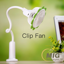 Free shipping kids mini table fan mini 5v fan low power consumption cooling mini clip fan with 1200 mAh battery