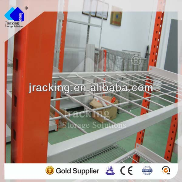 Jracking super quality powder-coated beam and post light duty wire shelving