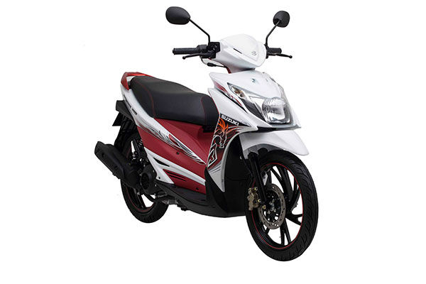 HAYATE SS FI Special model 125cc scooter motorcycle