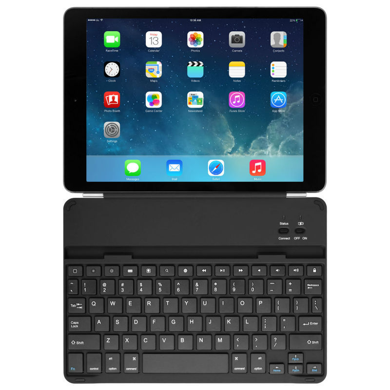 Keycover Case For Ipad Air Magnetic Aluminium Wireless Keyboard Keypad