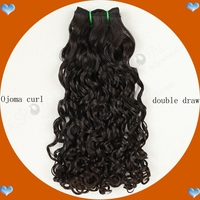 Top quality Ojoma curl brazilian hair weave