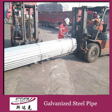 Carbon steel price per kg galvanized steel pipe post and rail fencing