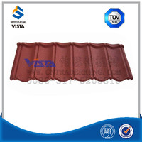 roof material stone coated metal roof tile / roofing sheet / shingle