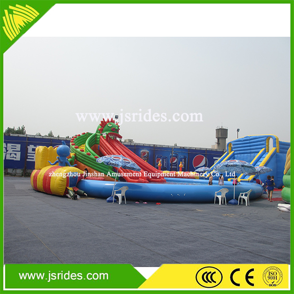 New inflatable floating water park,giant water park slides for sale