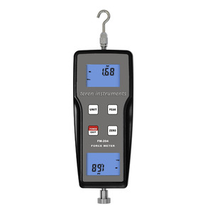 Teren FM-204-1k Multi-functional Digital Force Gauge Push Pull Force Testing Meter for Electronics Building Hardware