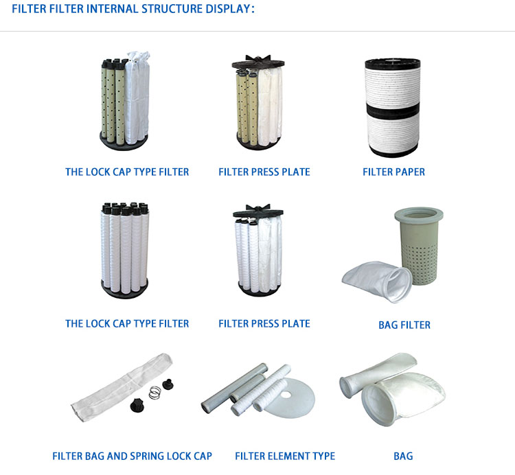 Acrylic chemical liquid filter nickel/acid plating filtration vessel pp filter