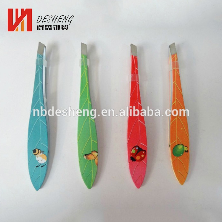 Stainless Steel Automatic Eyebrow Tweezers