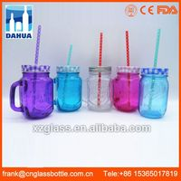 DH Ce Certified Big Large Inexpensive Mason Jar Buy Wholesale Restaurant Rings Glassware Tumbler With Stem