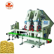potato mesh vegetables 25kg net bag packing machine