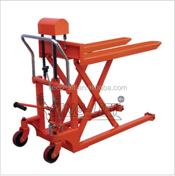 Hydraulic Boom Lifts For Pickups : Hydraulic scissor high lift pallet truck buy