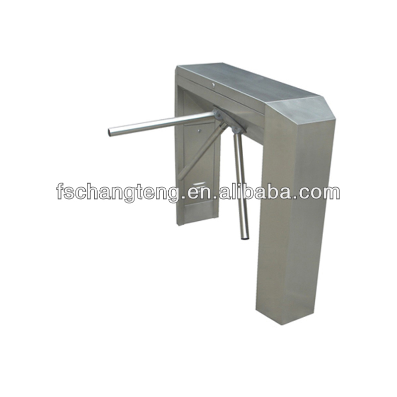 semi automatic bridge tripod turnstile bi direction pass