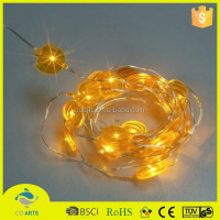 New arrival good quality pumpkin shape battery operated string light