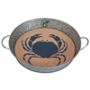 Serving Tray with Removable Cork Insert-Crab