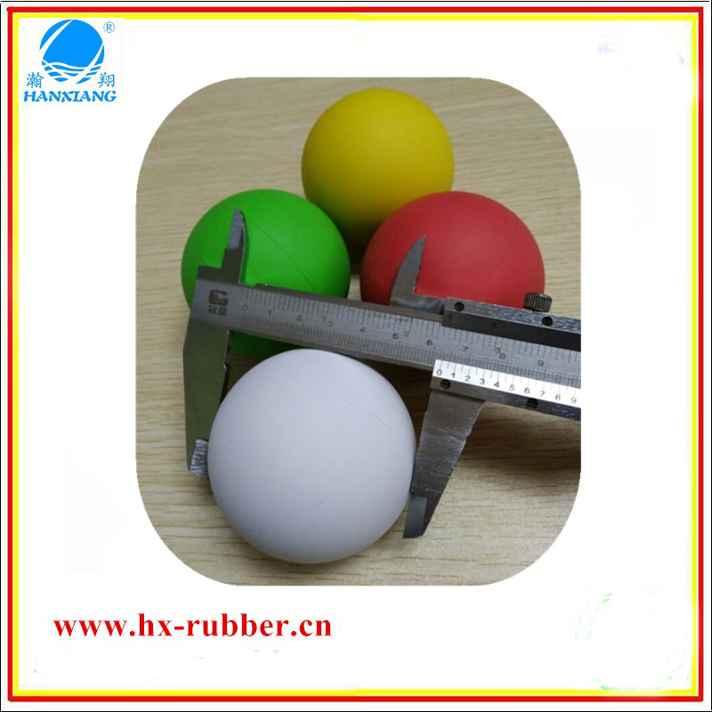 wholesales rubber christmas ball Mini creative bouncy toy ball wearproof puppy toy