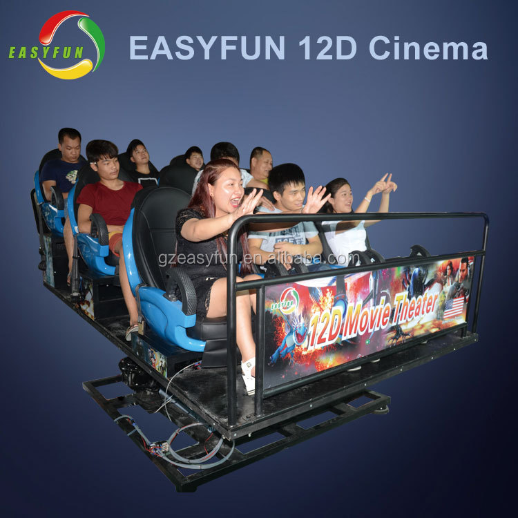 High Quality 7d Theater Manufacturer Popular 5d cinema Luxury Seats 360 Rotating 9d vr Cinema