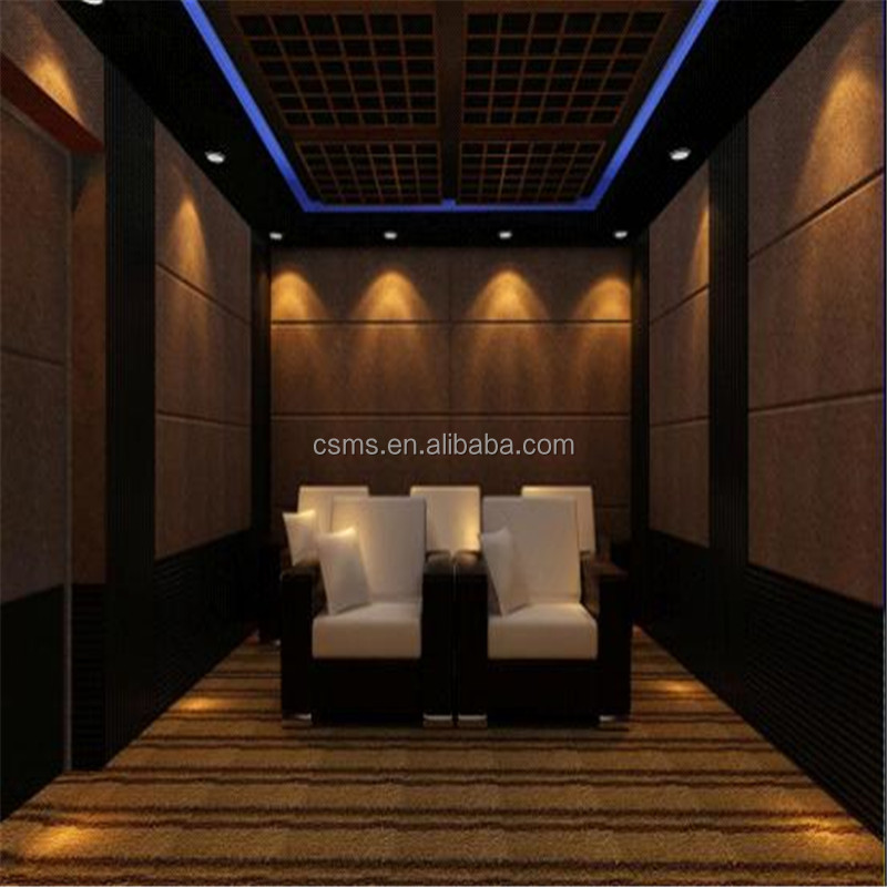 Fireproof Decorative Wallboard Panels For Home Theatre