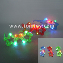 Light Up Flashing LED Star Shape Eyeglasses for Children