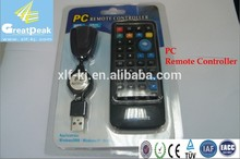 Wireless IR USB Media PC Remote Controller with laser pointer