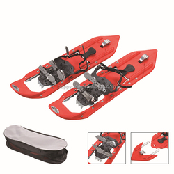 Popular design lengthened Hypalon skiing anti-slip snow shoes /snow shoes boot/anti-slip snow walking shoes with bag