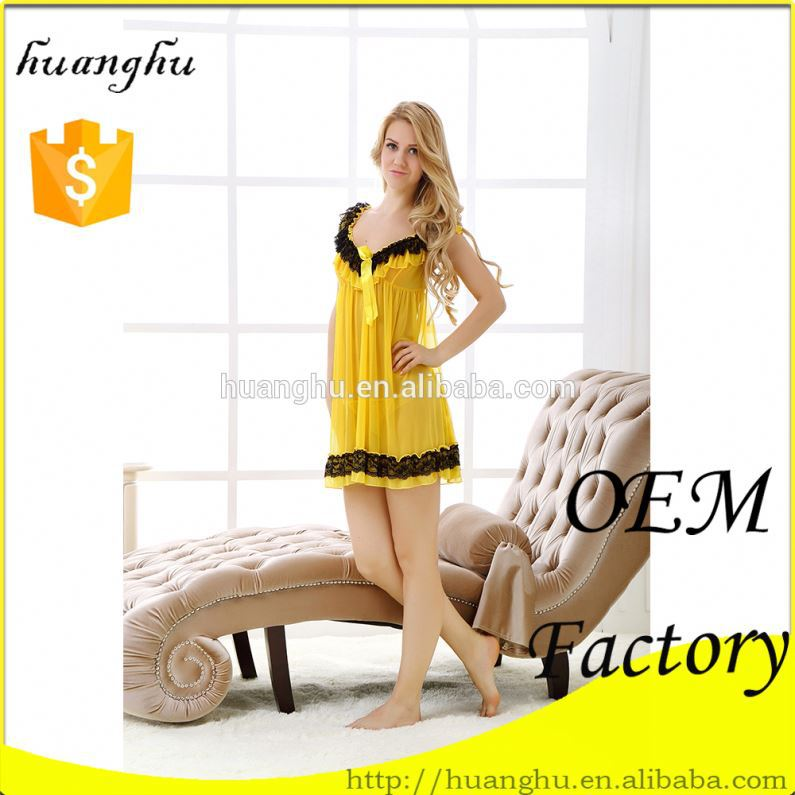 Luxury breathable top quality women in silk satin lingerie