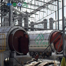 intermittent waste tyre pyrolysis to fuel oil waste tyres pyrolysis waste tire to oil high output machine with CE/ISO