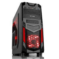 SAMA slim micro gaming computer cabinet atx pc case