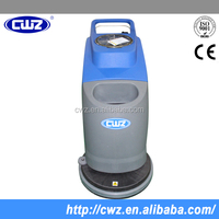 Super quality automatic small manual floor scrubber batteried 110Ah