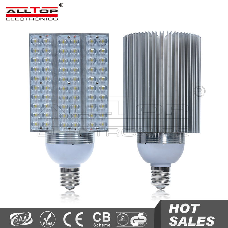 60w High brightness Bridgelux high power e40 solar led streetlight bulb
