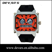 Watch factory sale digital sport watch clocks and watches with silicone band