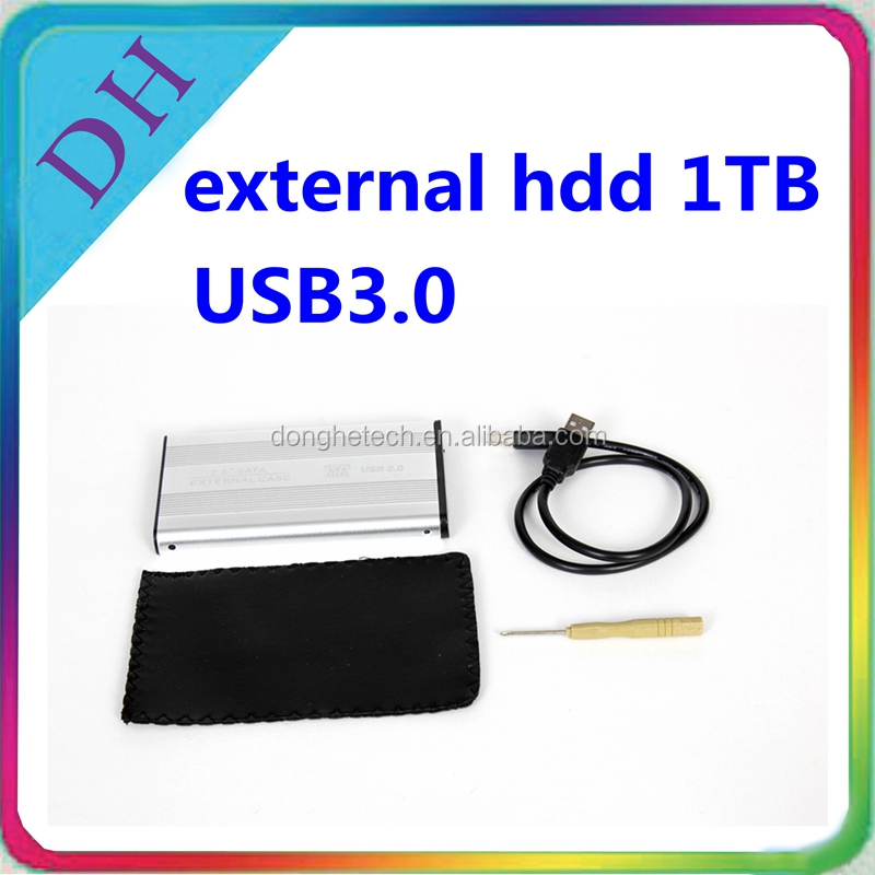 Hot external hard disk 1tb price USB 3.0 hdd for laptop/desktop and mobile