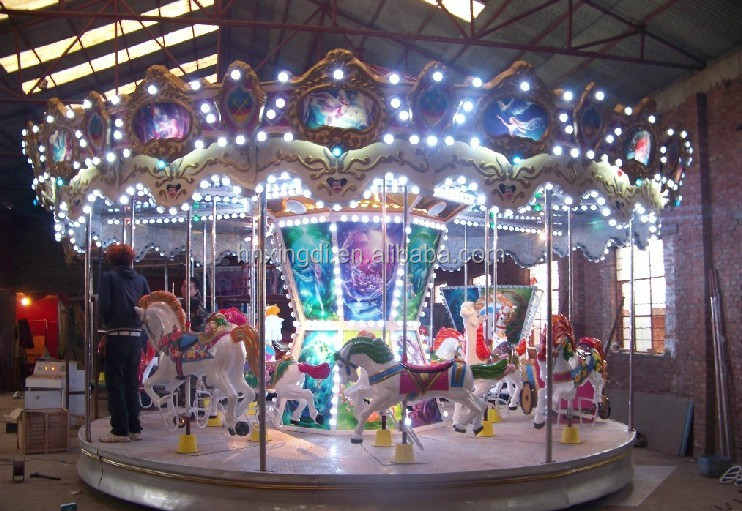 Amusement Park games antique Carousel for Sale