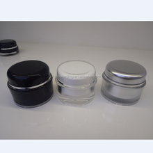 Face Cream Eye Cream Jar Acrylic Raw Material 15g 30g 50g Round Cosmetic Jar