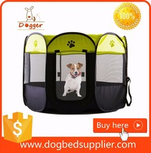 Portable Oxford Fabric Outdoor <strong>Pet</strong> / Dog Playpens With 8 Panels Wholesale