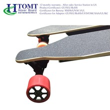 HTOMT LED light indicator four wheel Electric cheap skateboard boosted electric skateboard for sale