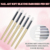 Wooden Soft Silicone Nail Art Carving Painting Pen Brush