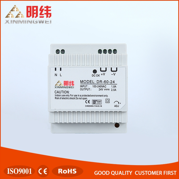 DR-60-24 Power Supply Units, 24v din rail power supply